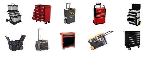 tipos caja herramientas con ruedas